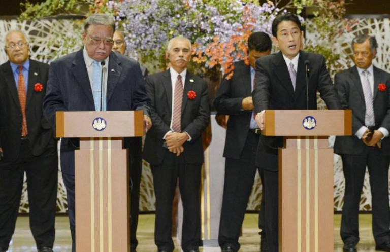 Japan to host next Pacific Islands Leaders Meeting in May 2018