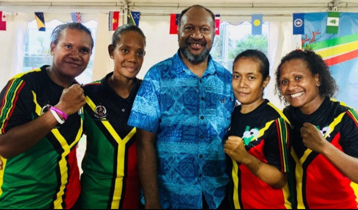 Vanuatu table tennis teams make history both winning gold